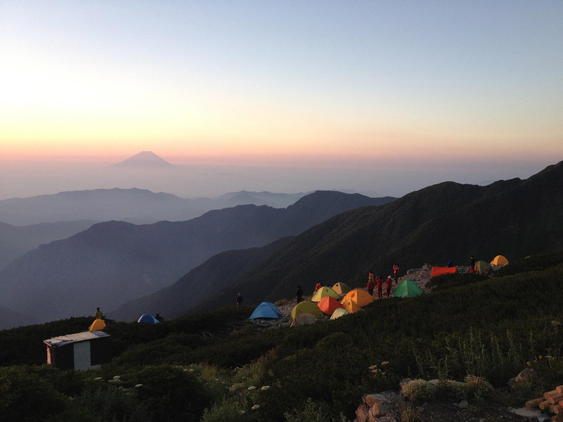 【日本で2番目に高い山】北岳に登る!世界遺産富士山を一番きれいに眺められる山!帰りに温泉