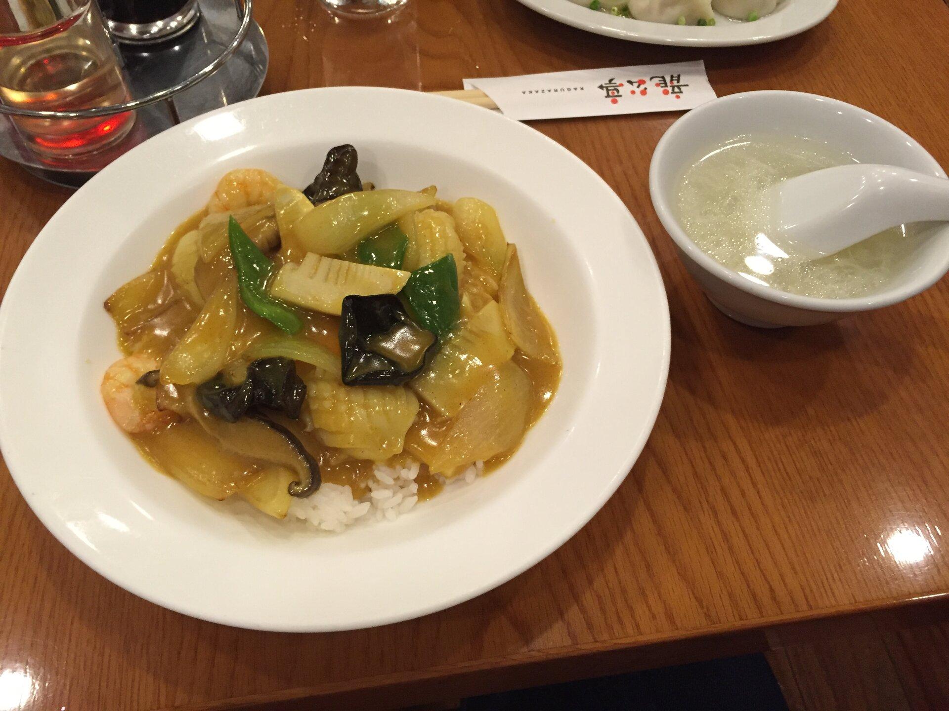 【え、これがカレーライス?!】神楽坂で130年続く中華料理!龍公亭で楽しむおすすめカレーライス!
